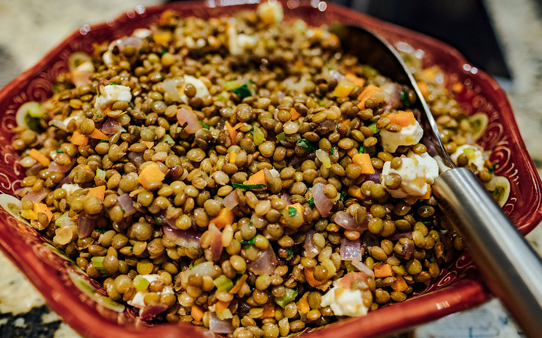 Umbrian Lentil Salad