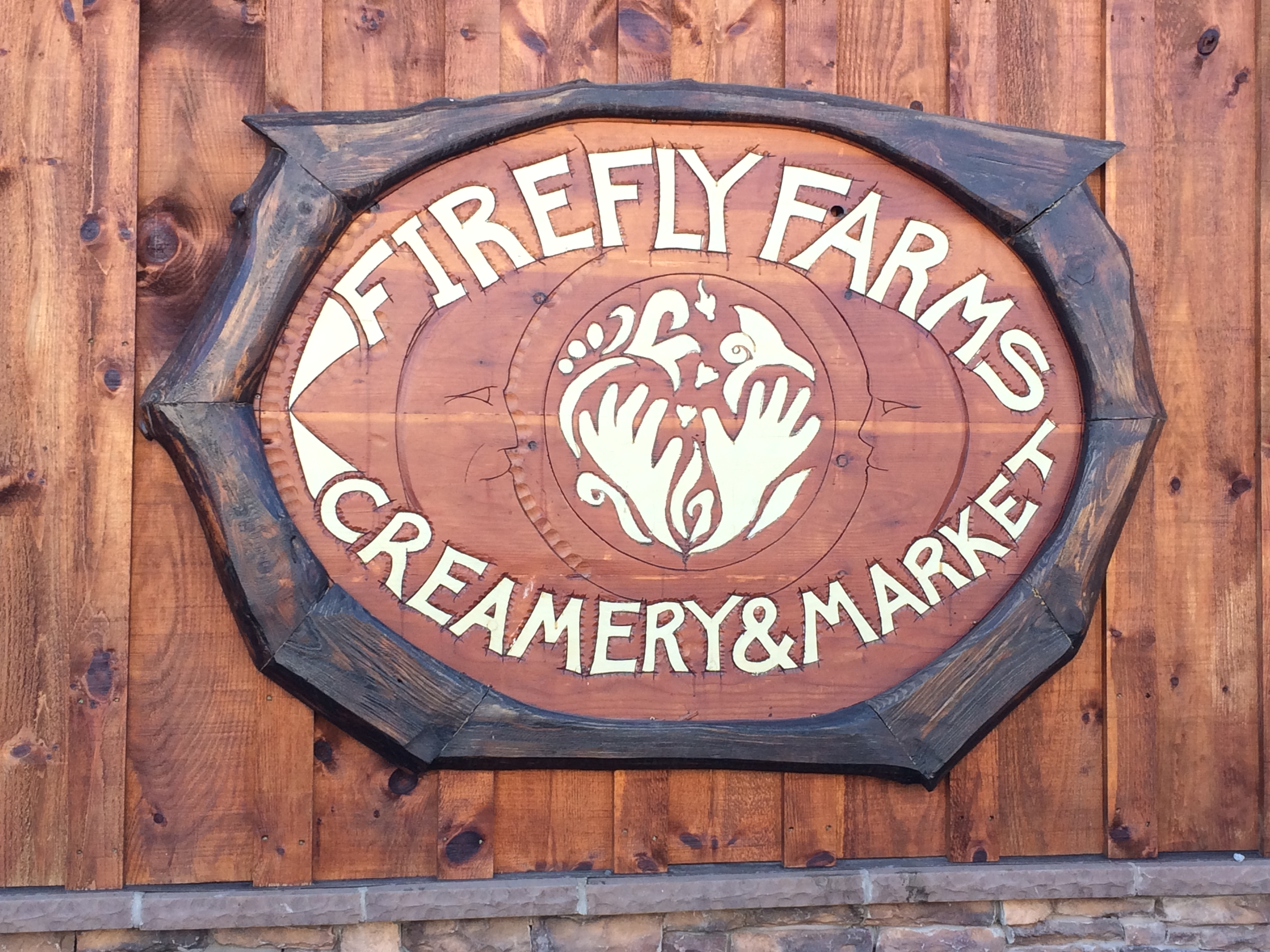 Firefly Creamery Sign